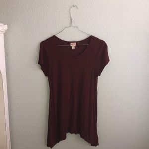 Red Mossimo Top